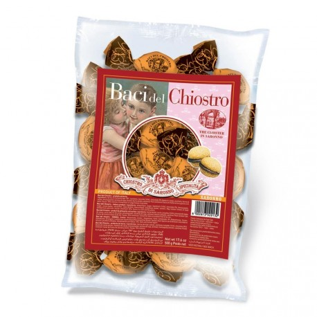 Baci del Chiostro Noisette- Biscuits - Refill bag - 500g