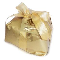 Panettone classico - Linea Gold - Incartato a mano - carta oro - 1000g