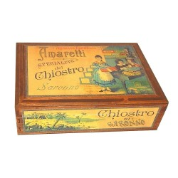 Pasticceria di Saronno - Assortment - Wooden Box. - 300g