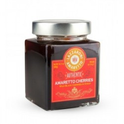 Lazzaroni Amaretto Cherries Amarene- Glass jar 400g