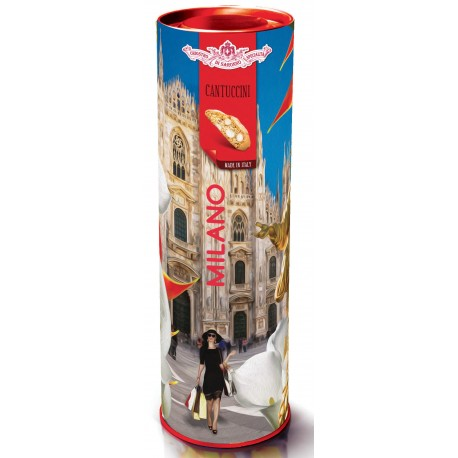 "Cantuccini del Chiostro - Biscotti alle mandorle - CYLINDER ""ITALIAN BEAUTY"" 200 g"