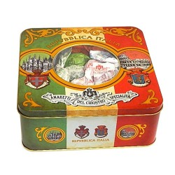 Assortment Chiostro - Crunchy Amaretti, Soft Amaretti and Baci - Expo Tin - 175g