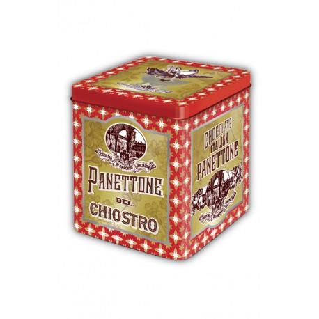Petit Panettone avec pepites de chocolate - Stardust boîte métal - 100g