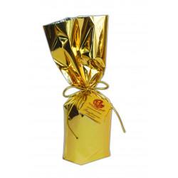 Mini Panettone classico - Handwrapped - Incartato a mano con carta oro - 50g