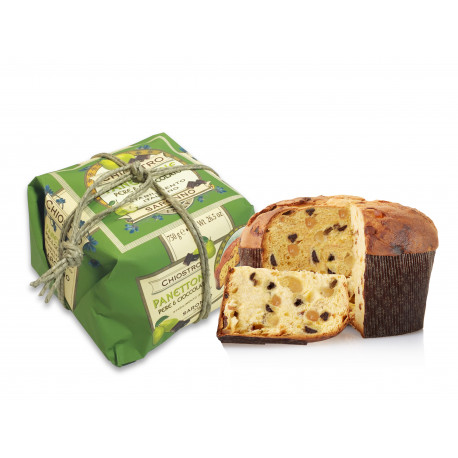 Panettone with pears and chocolate - Flavours line - Handly wrapped - 7500g