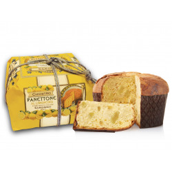 Panettone Limoncello - Hand wrapped - 750g