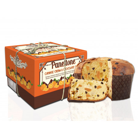 Panettone with Mascarpone and Wood berries - Hatbox - 750g