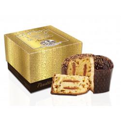 Panettone Amaretto - Gold Ribbon Boîte - 750g