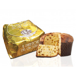 Classic panettone - Gold Ribbon - Hand-wrapped - 750g