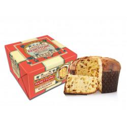 Classic panettone - Luxury andina - Wrapped box - 908g