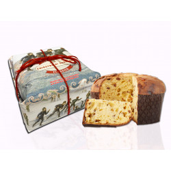 Classic panettone - Freetime - Hand-wrapped - 750g
