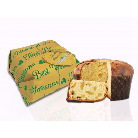 Classic Panettone - Hand wrapped - Best Wishes - 500g