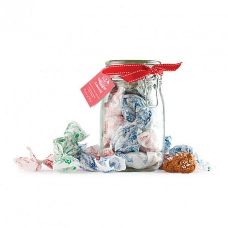 Amaretti Chiostro di Saronno - Croquantes - Pot en verre. Sans Gluten - 175g